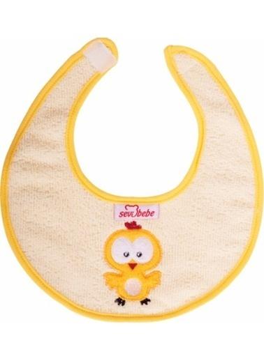 Sevi Bebe Sevi Bebe Küçük Havlu Önlük  Sarı